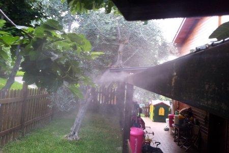 Impianto di nebulizzazione antizanzare per giardini. prezzo sistema